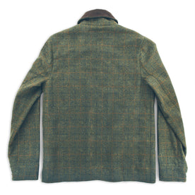 The Rover Jacket in Olive Plaid Waxed Wool: Alternate Image 3