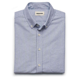 The Jack in Navy University Stripe Oxford - featured image