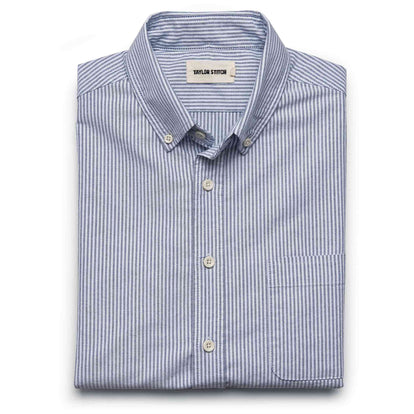 The Jack in Navy University Stripe Oxford: Featured Image