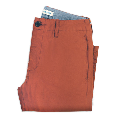 The Curator Pant in Rust - featured image