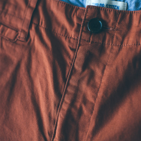 The Curator Pant in Rust - alternate view