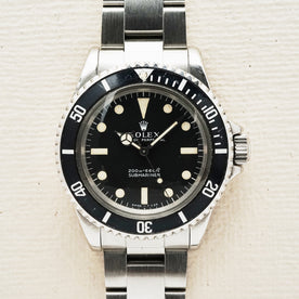 Rolex Submariner 5513 Meters First - featured image