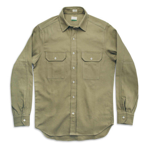 The Chore Shirt in Sage - featured image