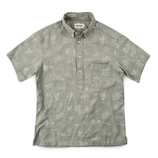 The Summer Popover in Sage Aloha