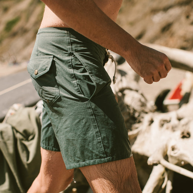The Surf Trunk in Sage
