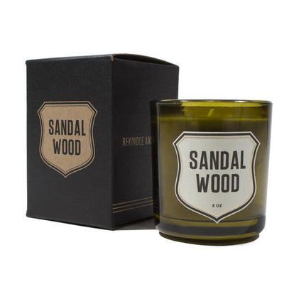 Sandalwood Vegetable Wax Candle