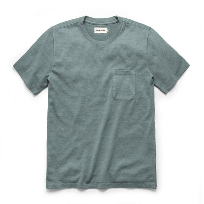 The Heavy Bag Tee in Seafoam: Featured Image