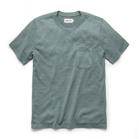 The Heavy Bag Tee in Seafoam - featured image