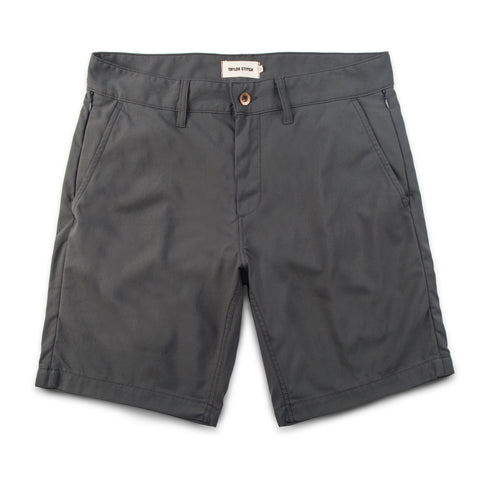 The Travel Short in Charcoal - featured image