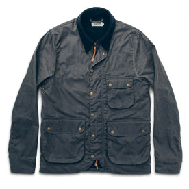 The Rover Jacket in Slate Beeswaxed Canvas: Featured Image