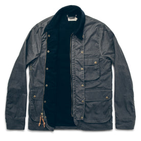 The Rover Jacket in Slate Waxed Canvas: Alternate Image 3