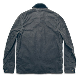 The Rover Jacket in Slate Beeswaxed Canvas: Alternate Image 6