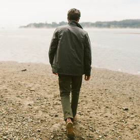 The Rover Jacket in Slate Waxed Canvas: Alternate Image 7