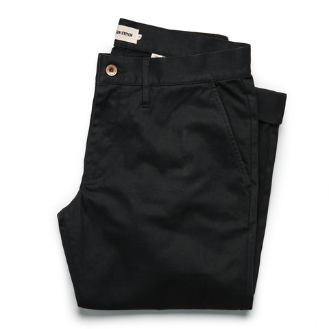The Slim Chino in Organic Coal - featured image