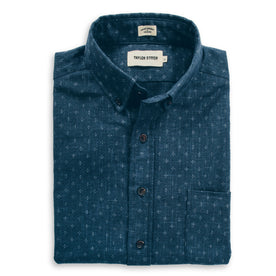 The Short Sleeve Jack in Indigo Star: Featured Image