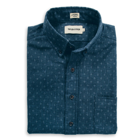 The Jack in Short Sleeve Indigo Star - featured image