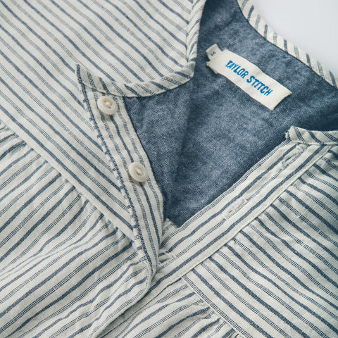 The Parker in Indigo Stripe - alternate view