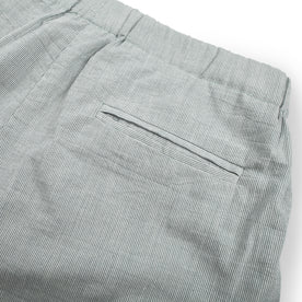 The Isla Pant in Seafoam Striped Cotton: Alternate Image 4