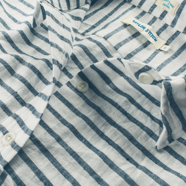 The Katherine in Indigo Stripe