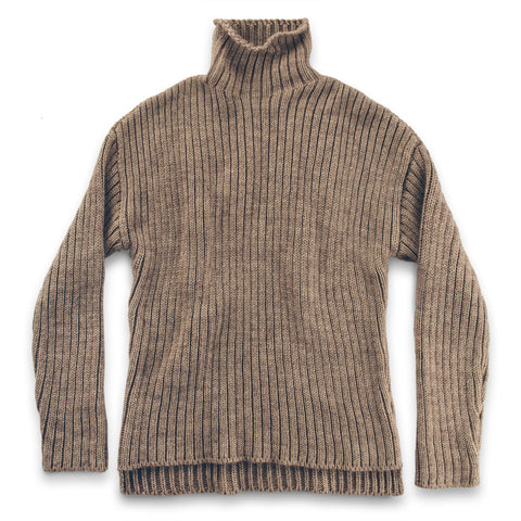 The Maritime Sweater in Mink - featured image