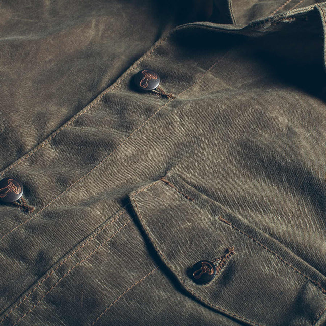The Project Jacket in Field Tan