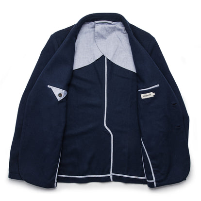 The Telegraph Jacket in Navy Boiled Wool: Alternate Image 8