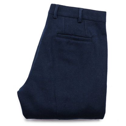 The Telegraph Trouser in Navy Boiled Wool: Alternate Image 6