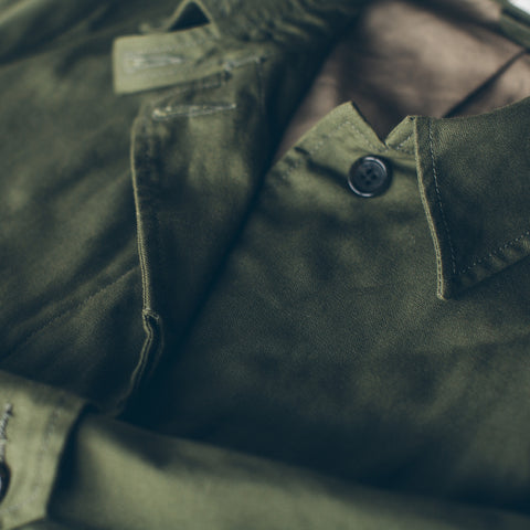 The Noe Trench in Olive - alternate view