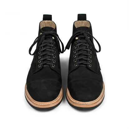 The Moto Boot in Black Waterproof Nubuck: Alternate Image 8