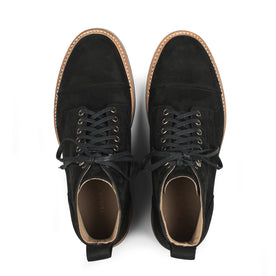 The Moto Boot in Black Waterproof Nubuck: Alternate Image 5