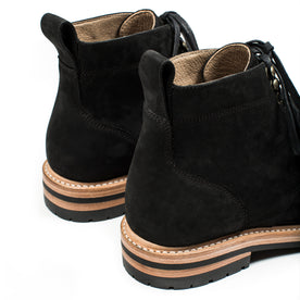 The Moto Boot in Black Waterproof Nubuck: Alternate Image 9