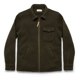 The Coit Jacket in Olive Waffle: Featured Image