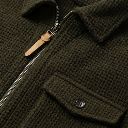 The Coit Jacket in Olive Waffle: Alternate Image 6