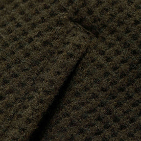 The Coit Jacket in Olive Waffle: Alternate Image 10