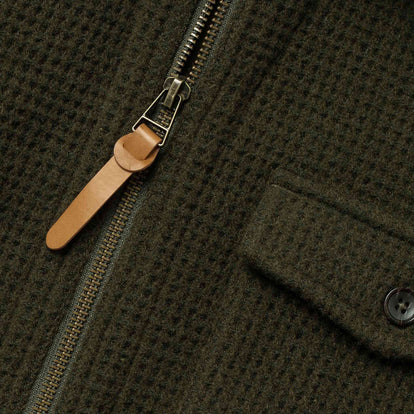 The Coit Jacket in Olive Waffle: Alternate Image 11