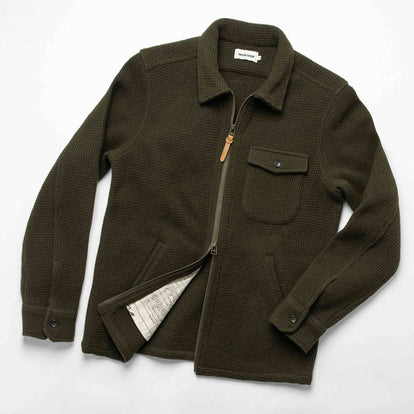 The Coit Jacket in Olive Waffle: Alternate Image 13