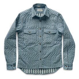 The Chore Jacket in Striped Chambray: Featured Image