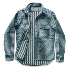 The Chore Jacket in Striped Chambray: Alternate Image 8