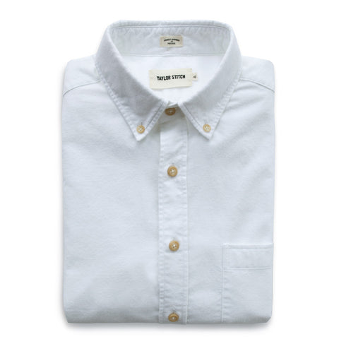 The Jack in Brushed White Oxford - featured image