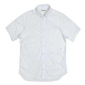 The Short Sleeve Jack in White: Alternate Image 2