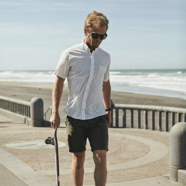 The Short Sleeve Jack in White