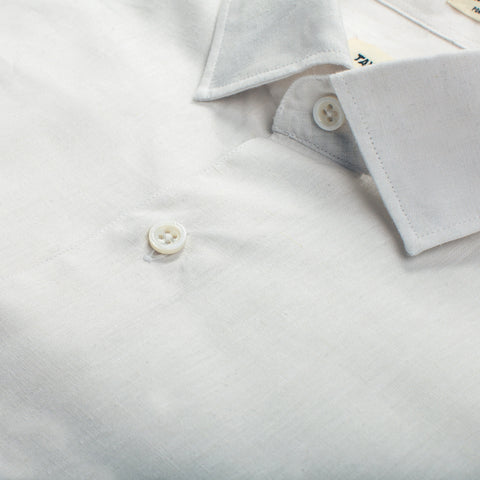 The Hyde in Antique White Cotton & Linen - alternate view