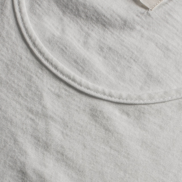 The Elle Crewneck Tee in Ivory