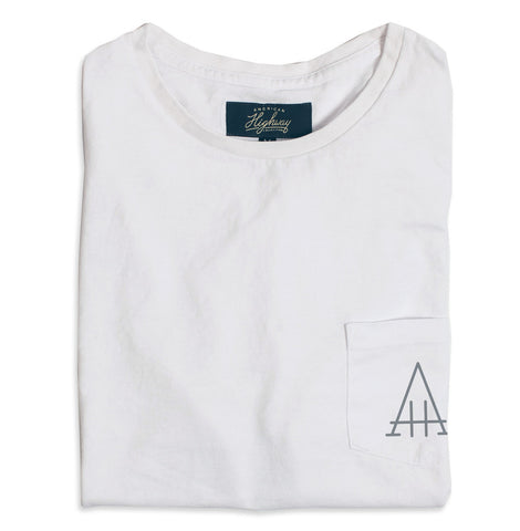 White Highway Tee - featured image