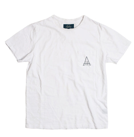 White Highway Tee - alternate view