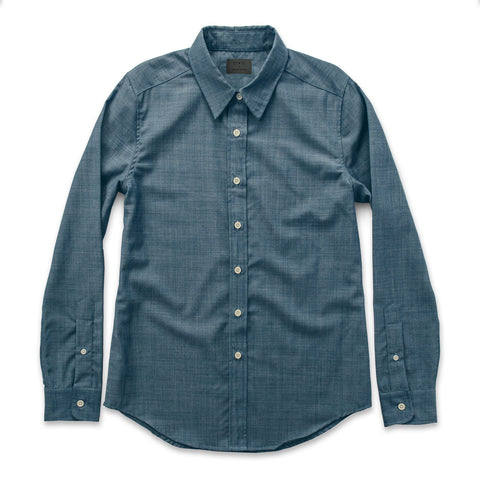 The Katherine in Blue Merino 4S Chambray - featured image