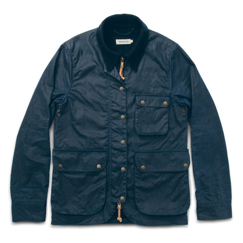 The Field Jacket in Navy - featured image