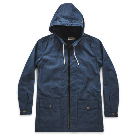 The Lighthouse Jacket in Indigo Chambray - featured image