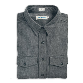 The Studio Shirt in Charcoal Everyday Chambray: Alternate Image 5