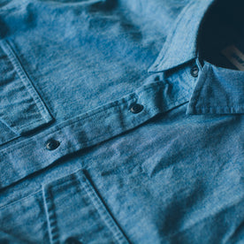 The Studio Shirt in Blue Everyday Chambray: Alternate Image 2